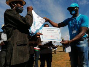 Remise par UNICEF Madagascar